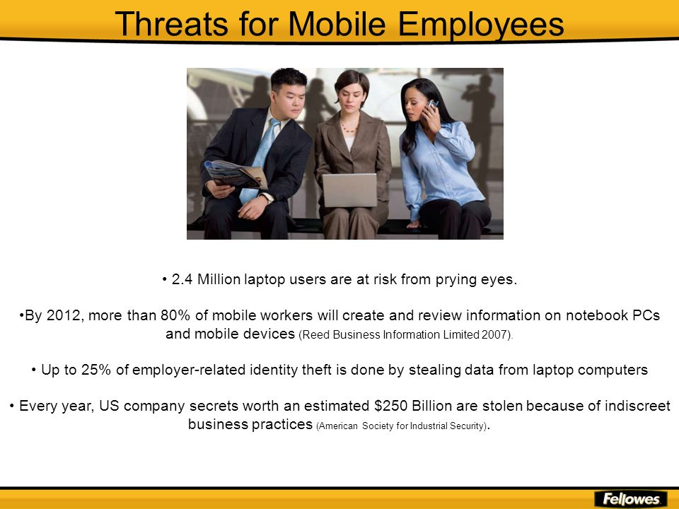 Threats for Mobile Employees