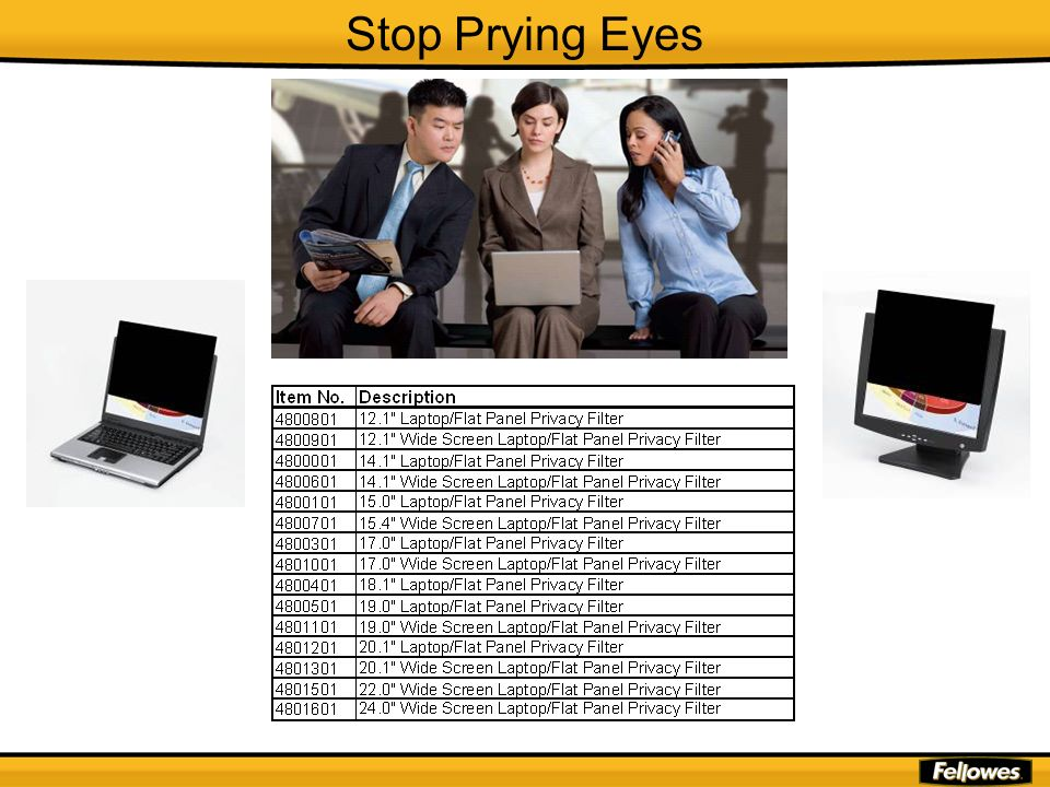 Stop Prying Eyes