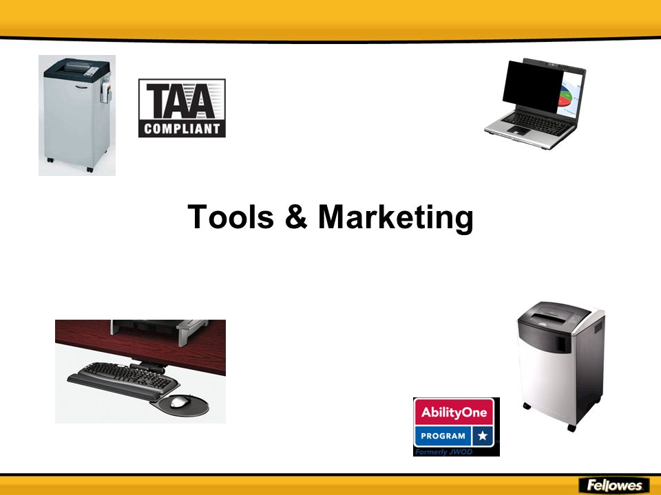 Tools & Marketing