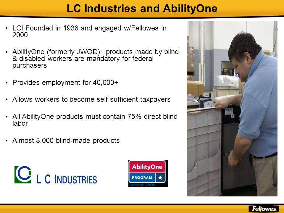 LC Industries and AbilityOne