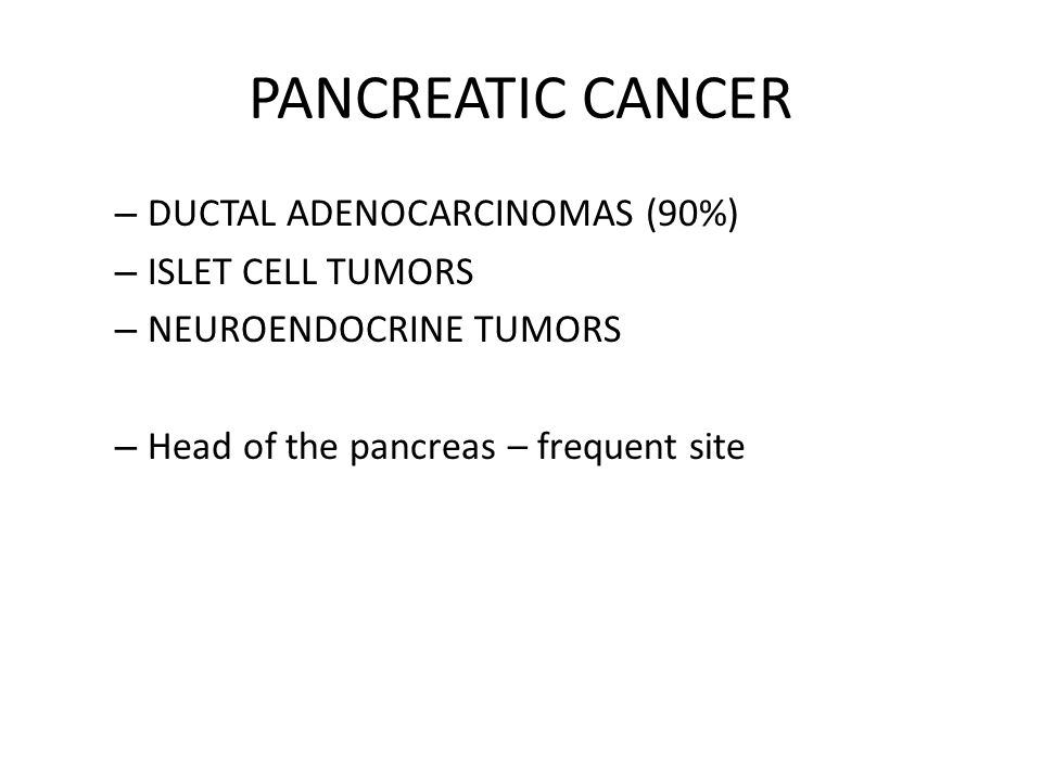 PANCREATIC CANCER. - ppt video online download