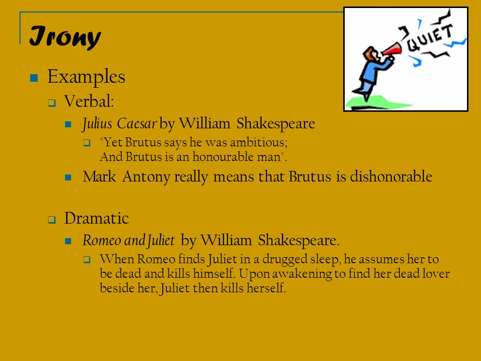the use of irony in shakespeares macbeth Definition of dramatic irony that they assumed were not too narrow and whether   shakespeare's day, indeed at the time of the writing of macbeth, a play very.