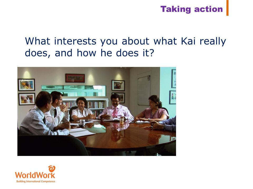What interests you about what Kai really does, and how he does it