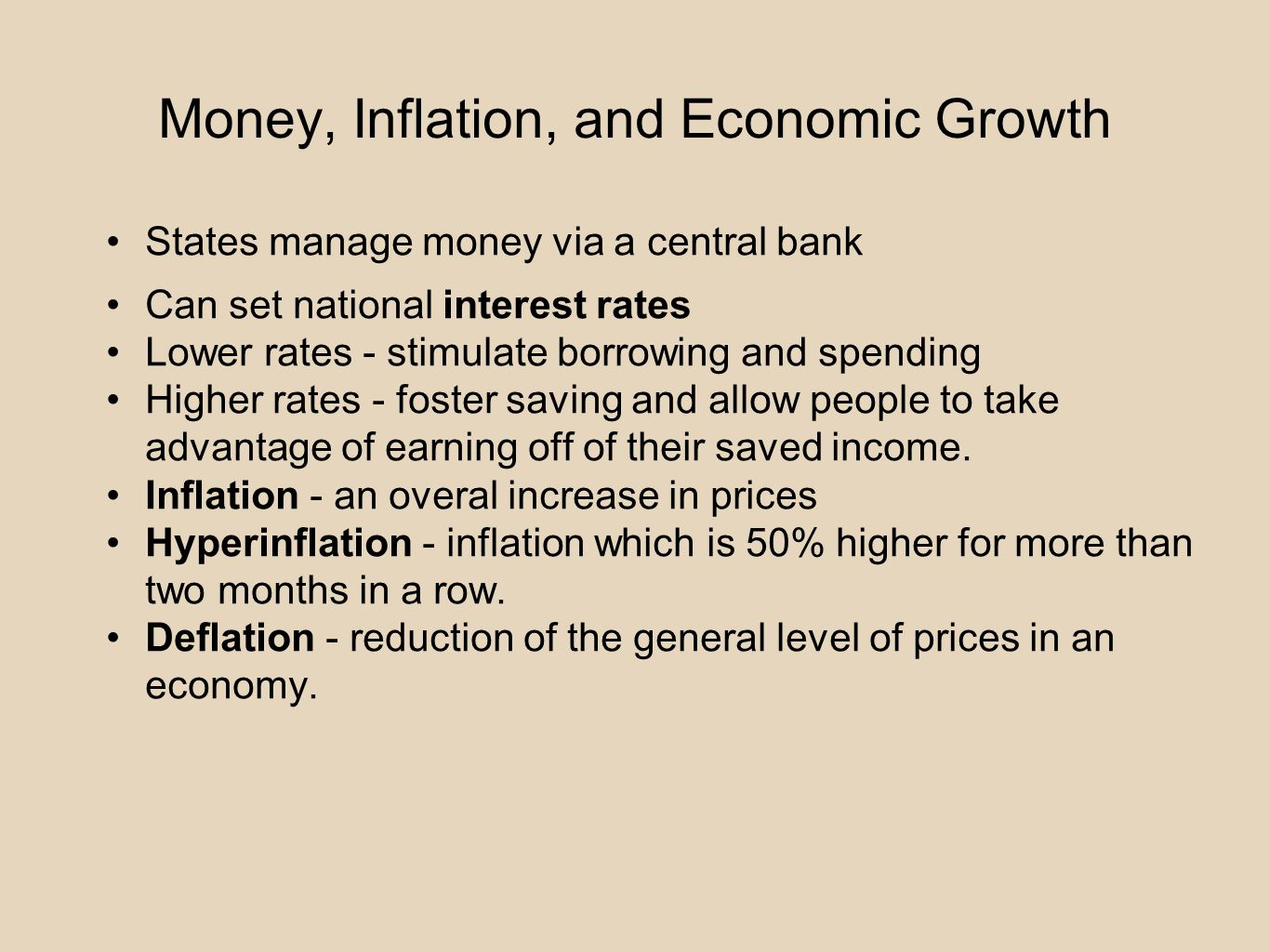 inflation and economic growth pdf