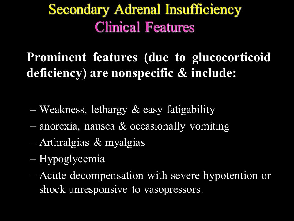 adrenal insufficiency steroid withdrawal