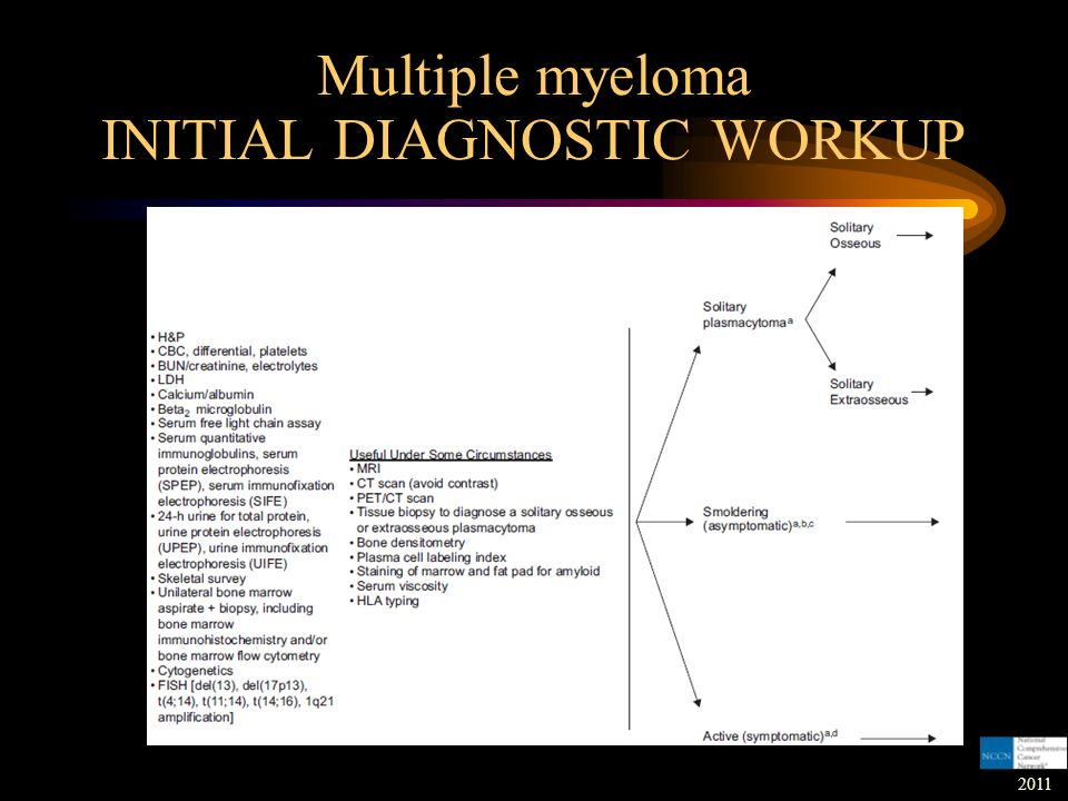 Multiple Myeloma Definition: - ppt download Multiple Myeloma Diagnosis