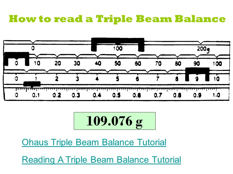 Reading Triple Beam Balance Practice Worksheet Triple Beam Balance