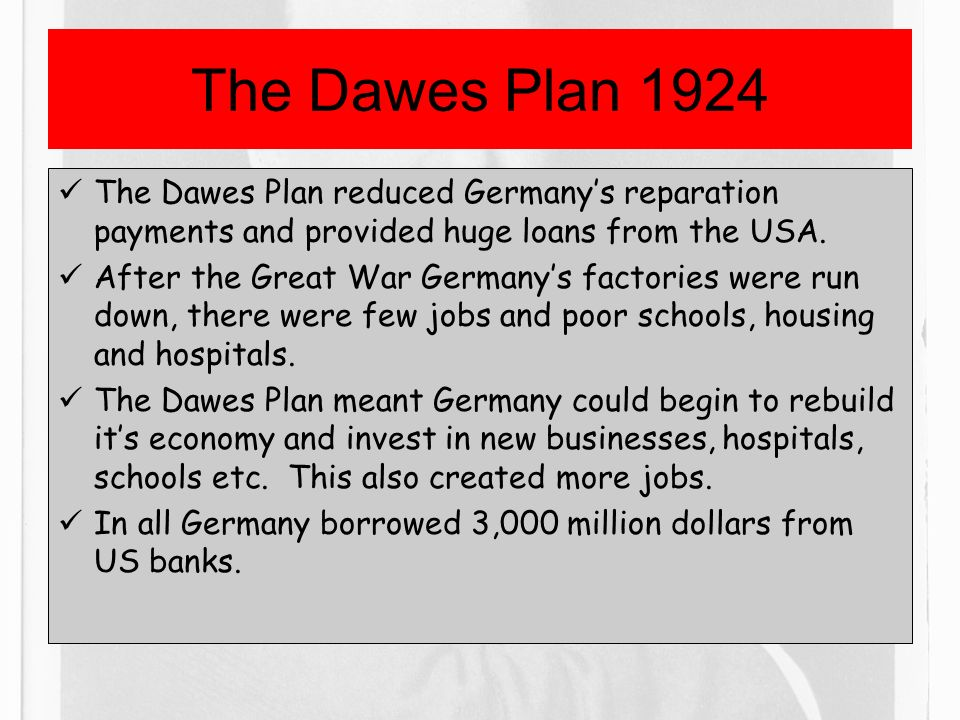 the dawes plan Take a look at our interactive learning quiz about dawes plan, or create your own quiz using our free cloud based quiz maker and mobile apps.