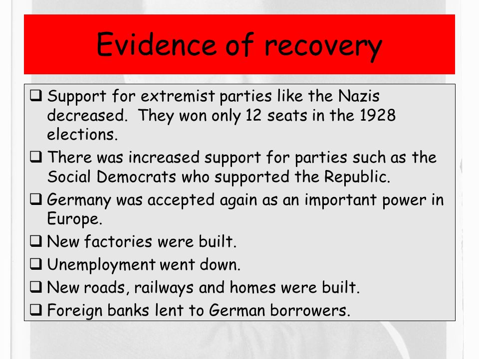 to what extent did the weimar republic recover after 1923 What were the causes of the hyperinflation in the weimar republic how did the hyperinflation in germany in 1923 affect the country how did germany recover from hyperinflation during the early 1920s.