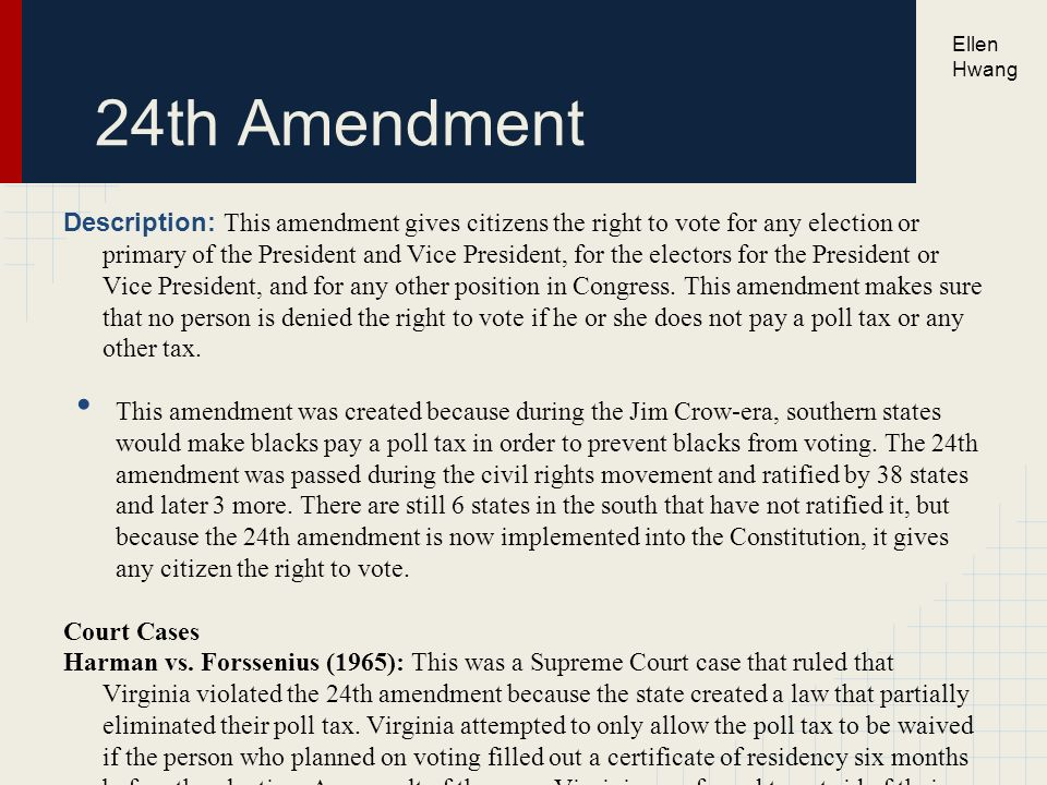 violation of the amendments essay Essay offers insight into 4th amendment students wrote essays exploring the fourth amendment and if a witness shares a tip that a violation.