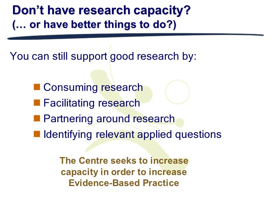 You can still support good research by: