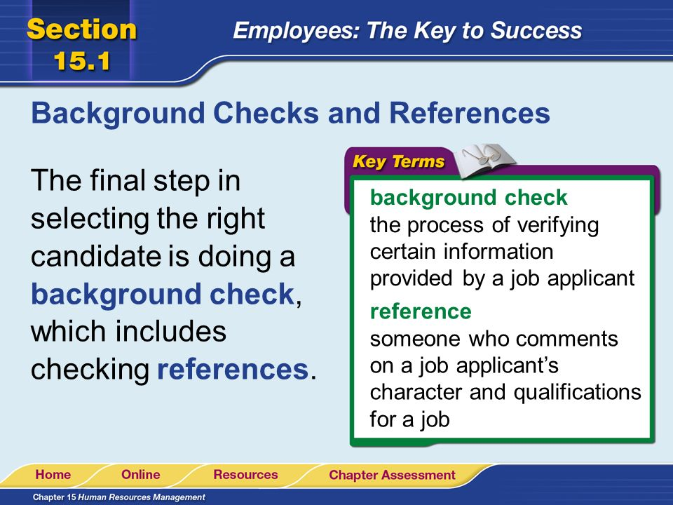 how to make a background check on someone