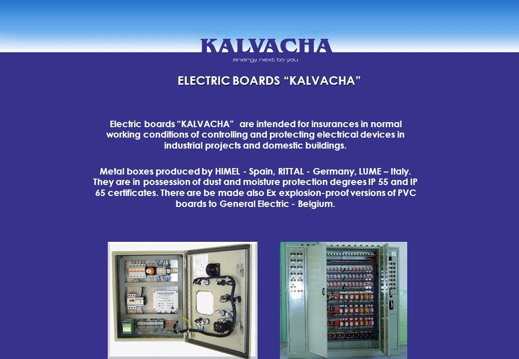 ELECTRIC BOARDS KALVACHA
