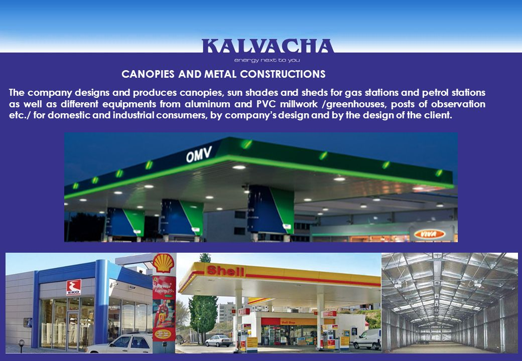 CANOPIES AND METAL CONSTRUCTIONS