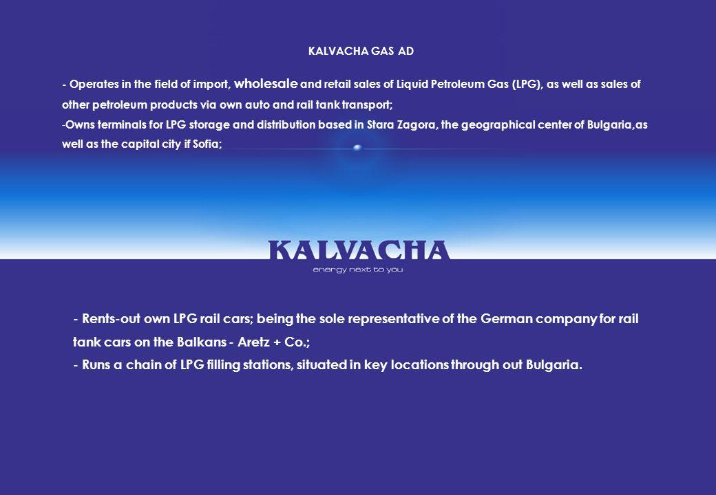 KALVACHA GAS AD