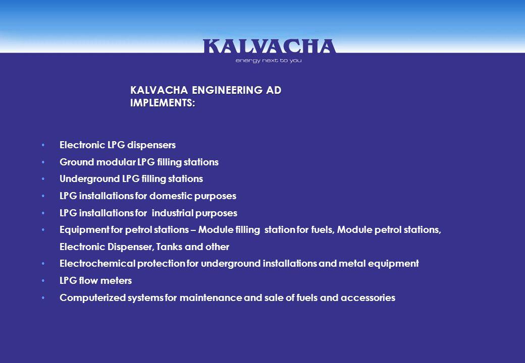 KALVACHA ENGINEERING AD IMPLEMENTS:
