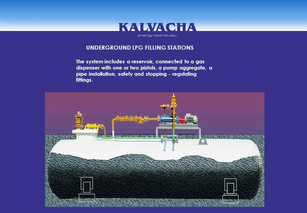 UNDERGROUND LPG FILLING STATIONS