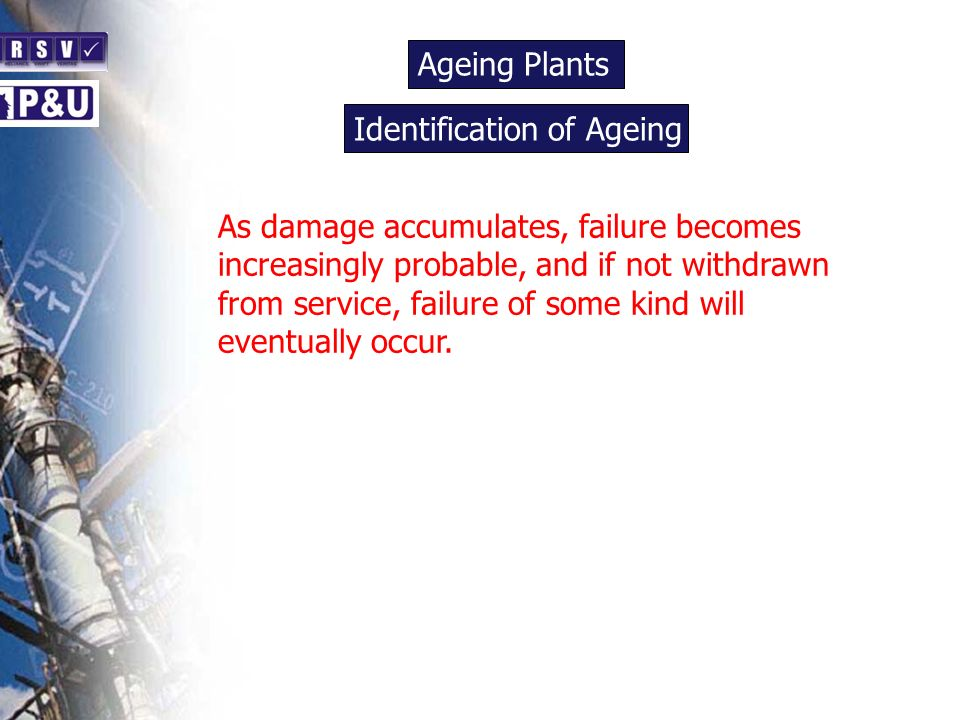 Ageing Plants n. Identification of Ageing. n.