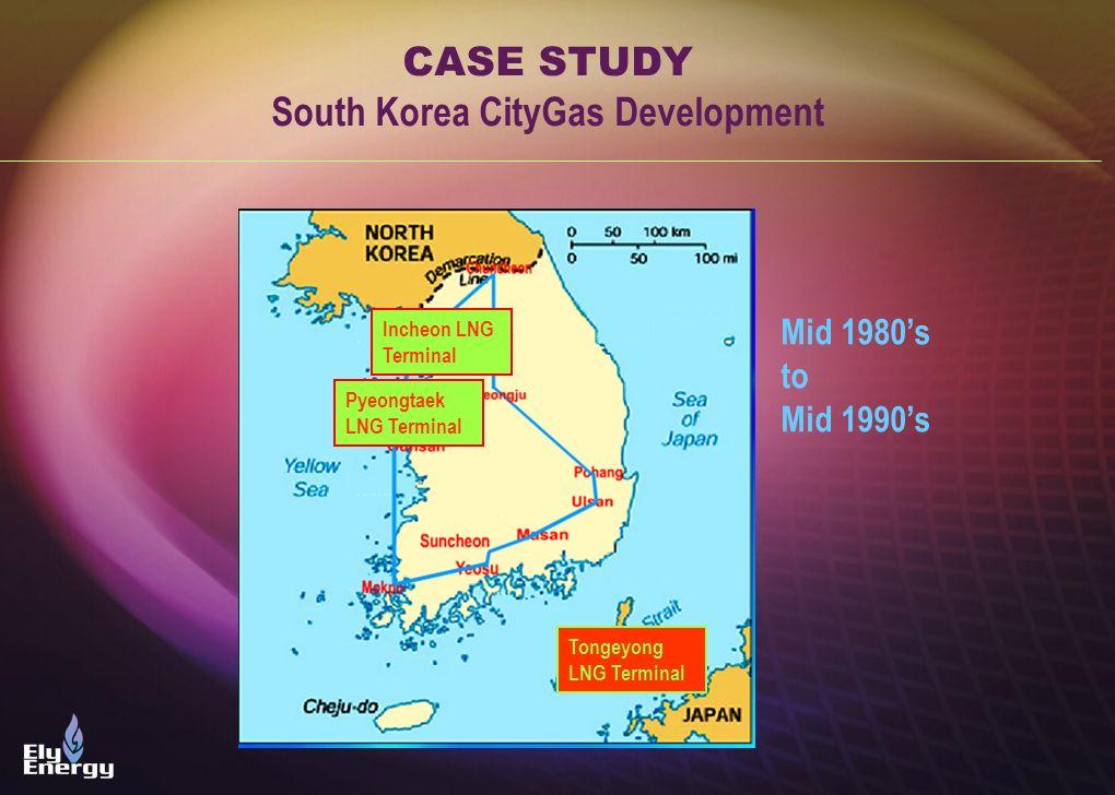 South Korea CityGas Development
