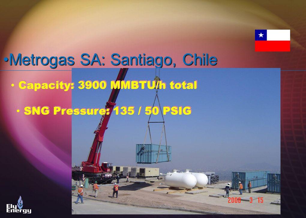 Capacity: 3900 MMBTU/h total