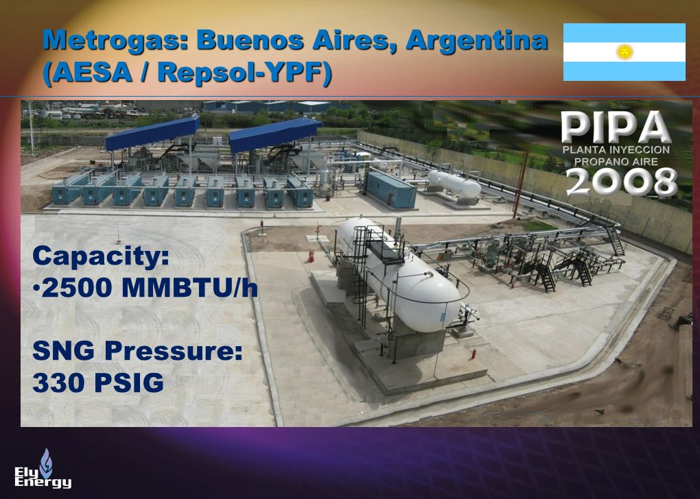 Metrogas: Buenos Aires, Argentina