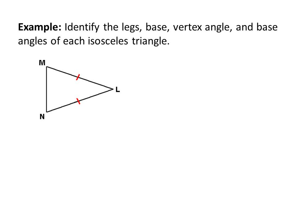 Right Angle Base : Isosceles triangles coordinate proof ppt video online