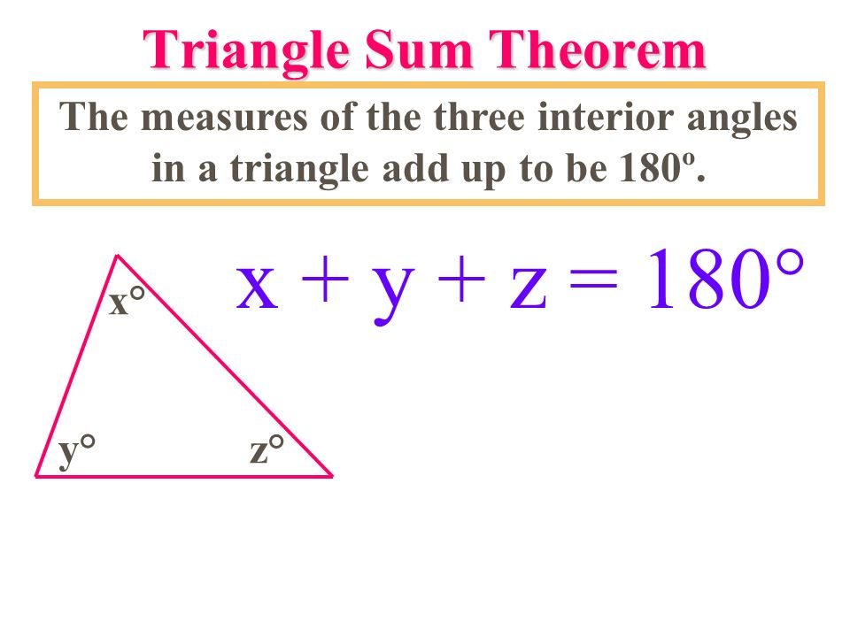 4.1 Triangles & Angles August 15, ppt video online download