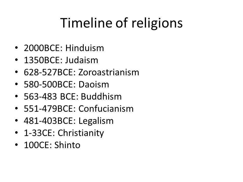World Religions. - ppt download