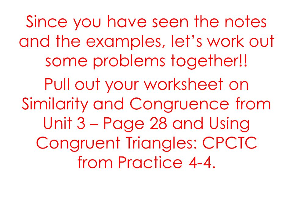 Reasoning With Congruent Triangles Lesson Ppt Download