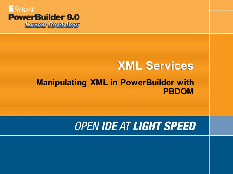 Manipulating XML in PowerBuilder with PBDOM