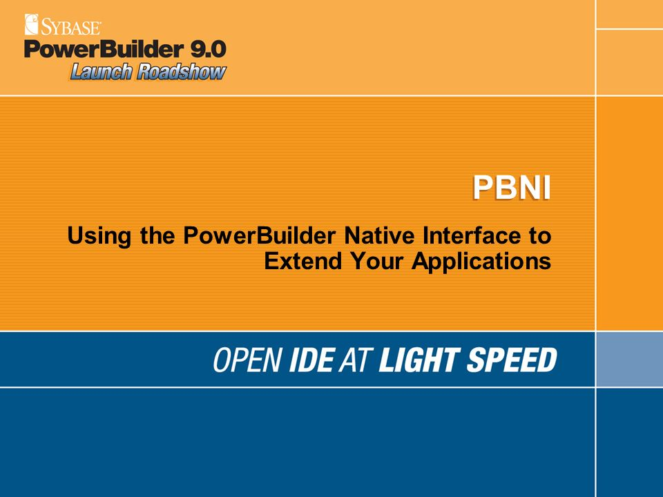 Using the PowerBuilder Native Interface to Extend Your Applications