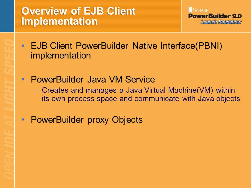 Overview of EJB Client Implementation