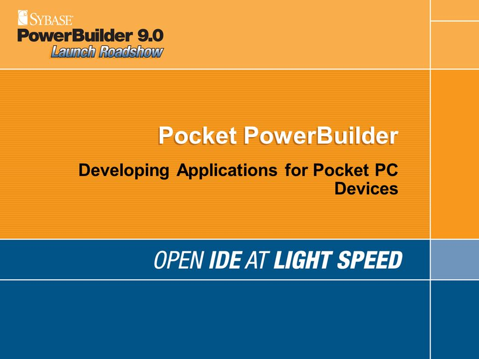 Developing Applications for Pocket PC Devices