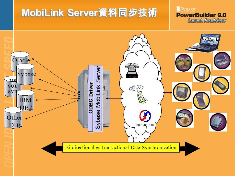 MobiLink Server資料同步技術