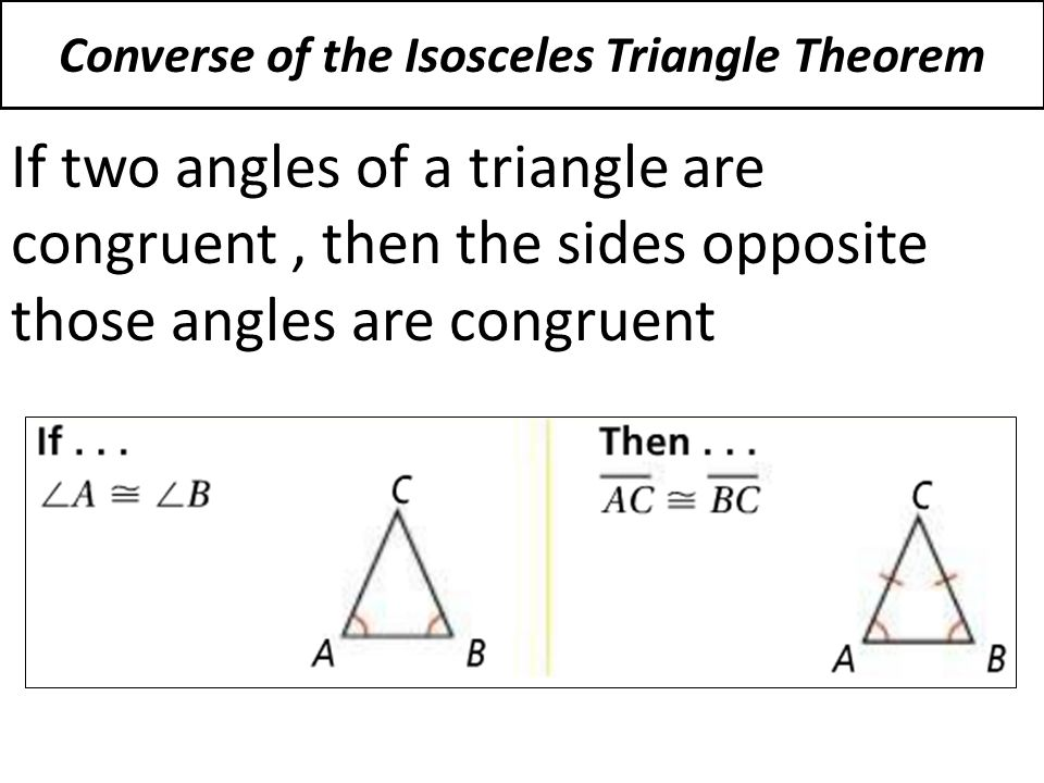 4-5 Isosceles and Equilateral Triangles - ppt download