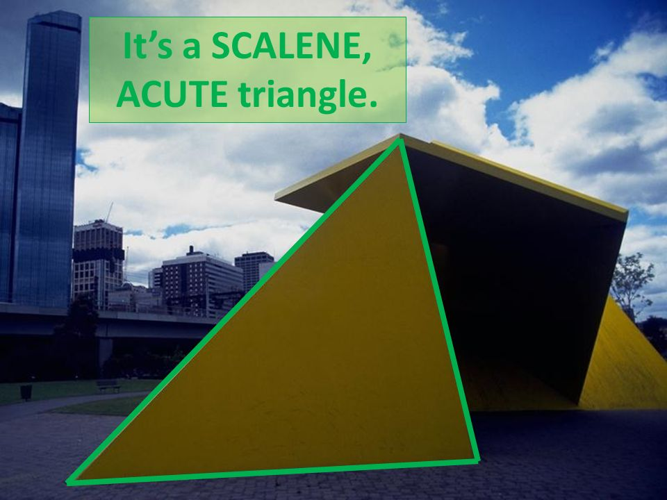 how to draw an acute scalene triangle