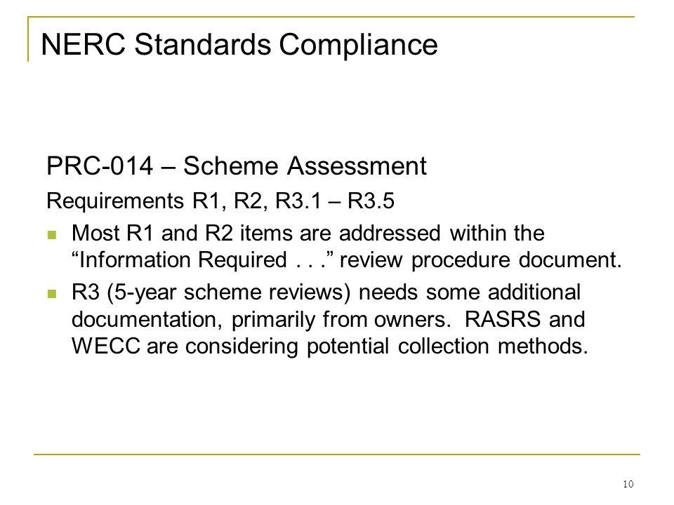 NERC Standards Compliance