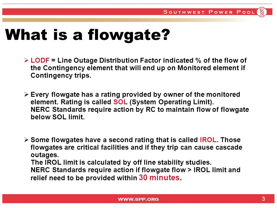 What is a flowgate