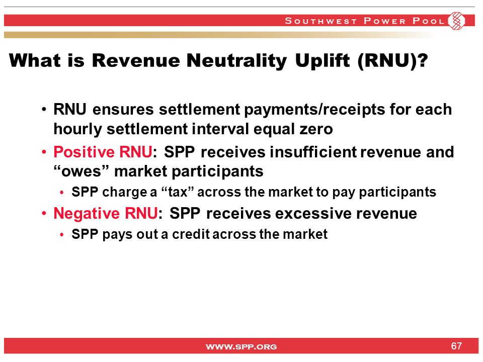 What is Revenue Neutrality Uplift (RNU)