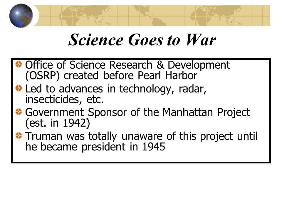 us government created the manhattan project to test the atomic theory Japanese atomic bomb project as the us did the japanese government did send a letter to the us as chief of foreign intelligence in the manhattan project.