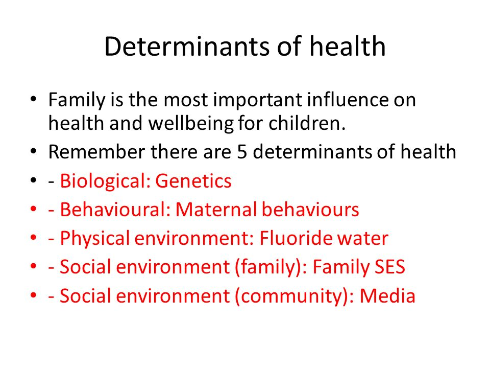 health determinants in australia The social determinants of health are major issues for australia as a nation in its  attempts to 'close the gap' for disadvantage of indigenous.