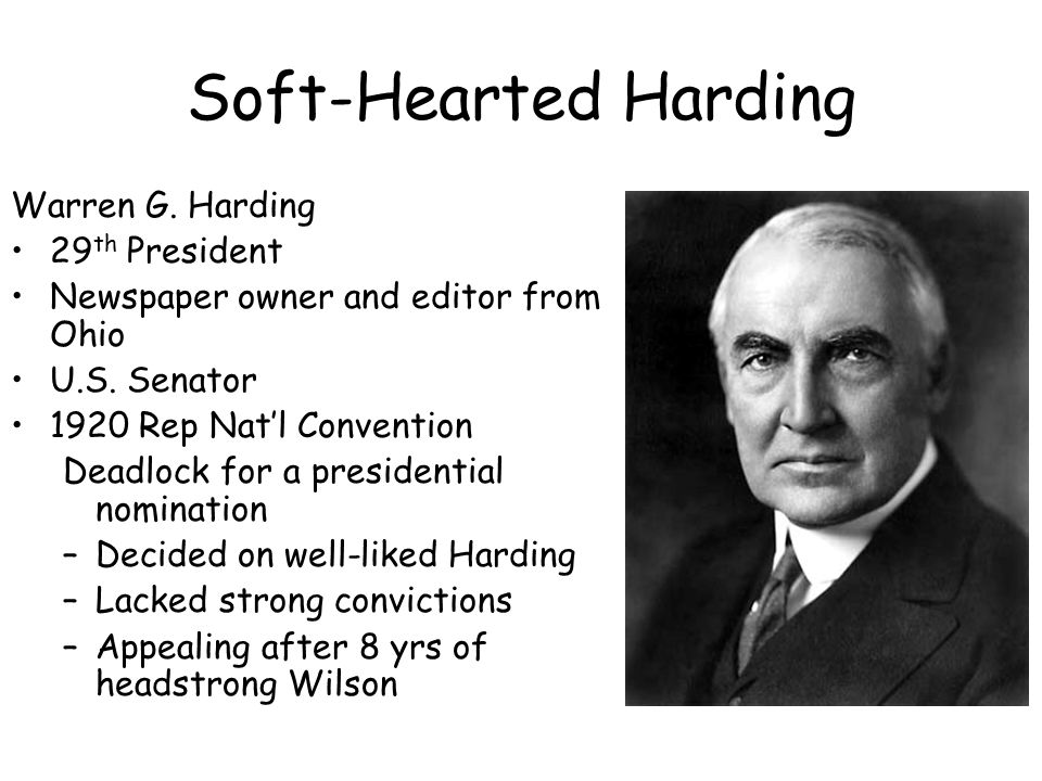 a biography of warren g harding Dismissed as a failure and all but forgotten, president warren g harding has re-emerged as a much more interesting man over the past 13 months.