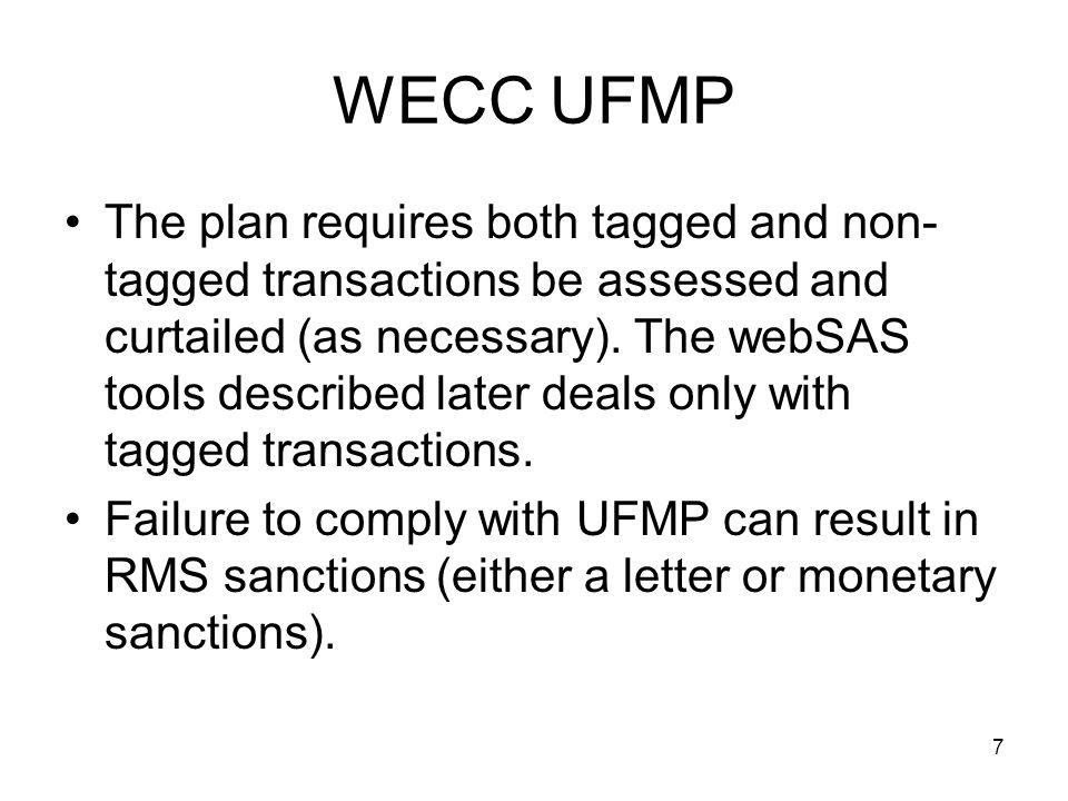 WECC UFMP