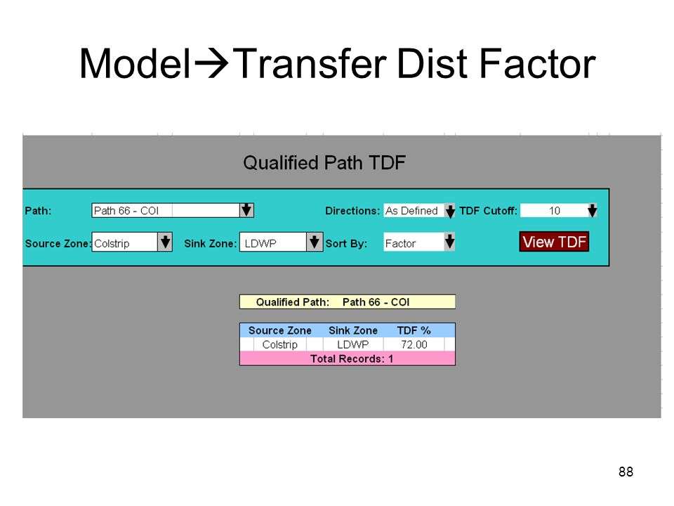 ModelTransfer Dist Factor