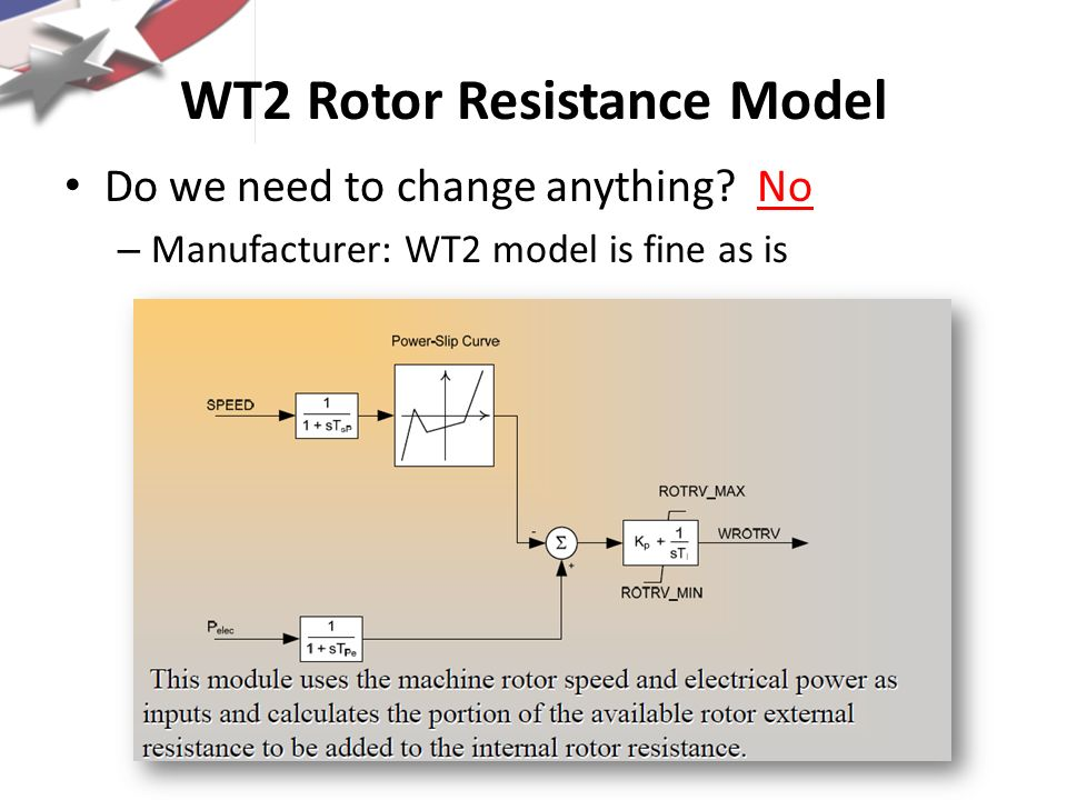 WT2 Rotor Resistance Model