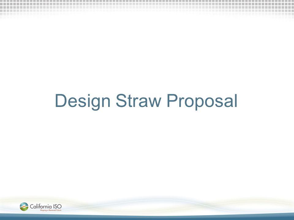 Design Straw Proposal