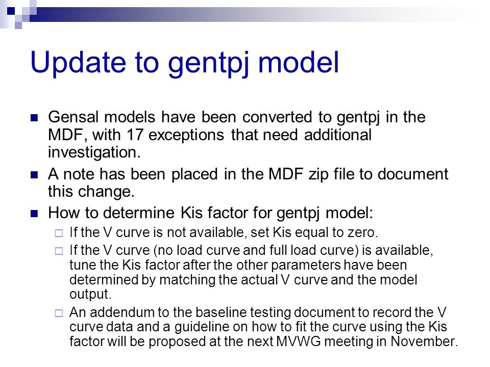 Update to gentpj model Gensal models have been converted to gentpj in the MDF, with 17 exceptions that need additional investigation.