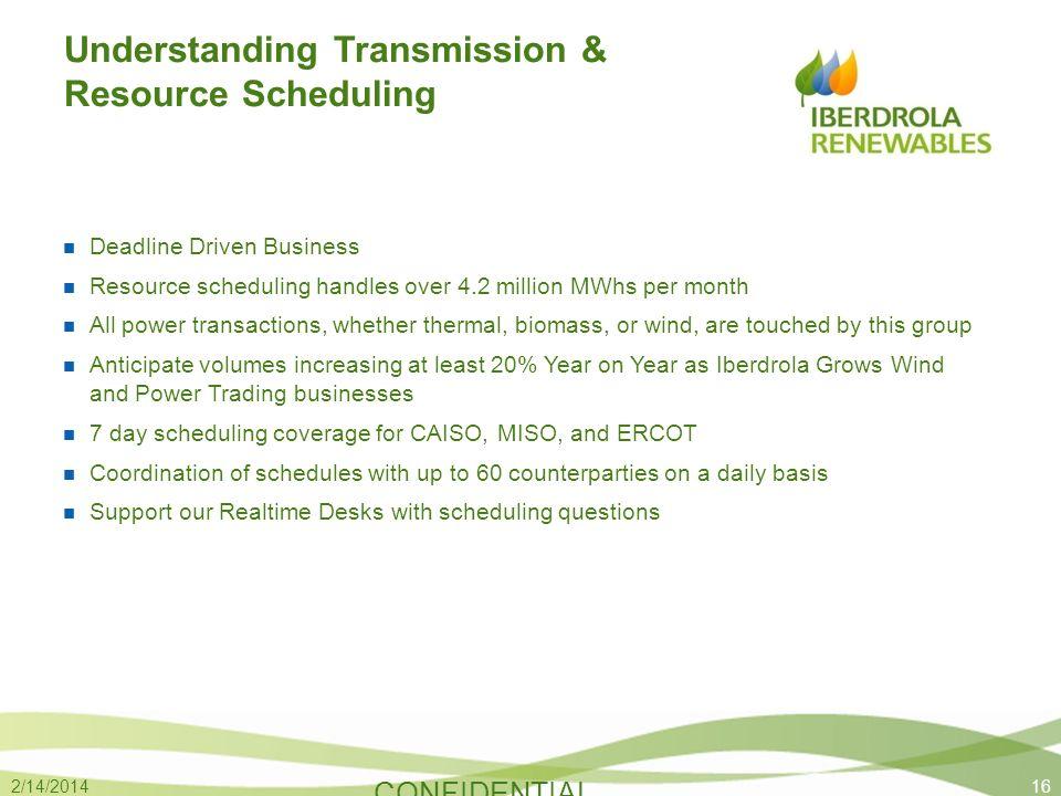 Understanding Transmission & Resource Scheduling