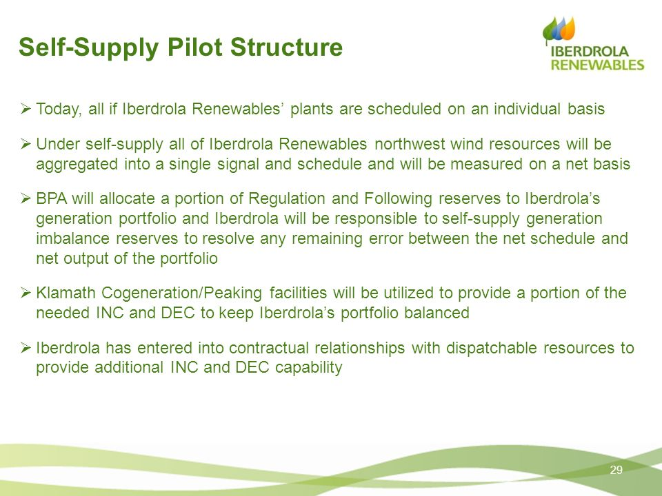 Self-Supply Pilot Structure
