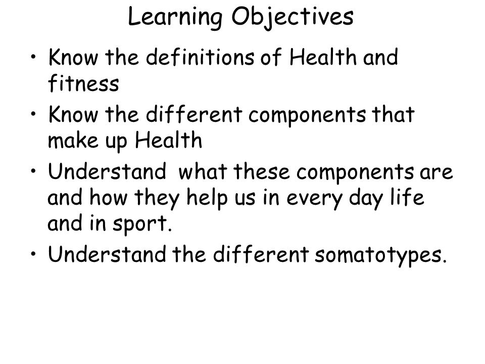 how to learn definitions health vce